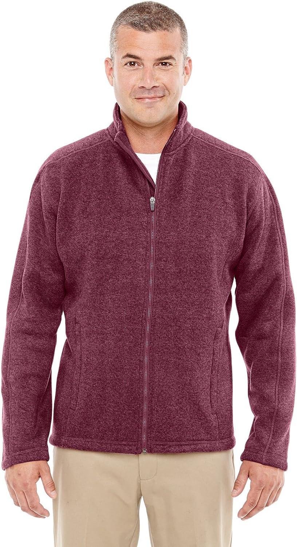 Devon 売店 Jones Mens Bristol Full Jacket Zip Sweater 送料無料 Fleece