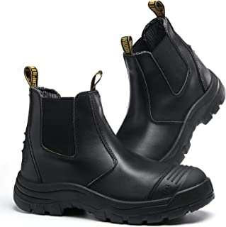 Men's Chelsea Steel Toe Waterproof Work Boots