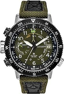 Citizen Promaster Altichron BN5050-09X Mens Khaki Cordura Band Khaki Quartz Dial Watch