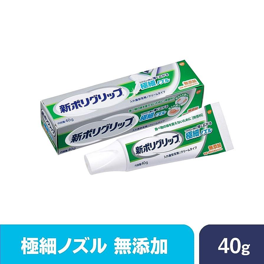 方向傾向怒り部分?総入れ歯安定剤 新ポリグリップ極細ノズル 無添加 40g