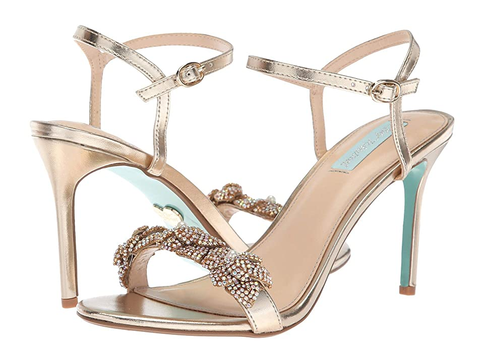 Blue by Betsey Johnson Harlo (Gold) High Heels