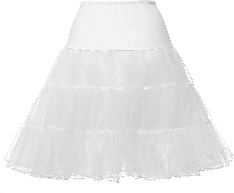Abaowedding Flower Girls Hoopless Petticoat Crinoline Child's Tutu Underskirt Slips