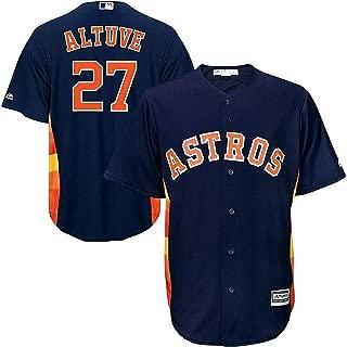 Outerstuff Jose Altuve Houston Astros #27 Navy Kids Cool Base Alternate Replica Jersey