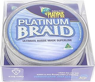 Platypus Platinum Fishing Braid (Grey) - World's Best Since 1898!