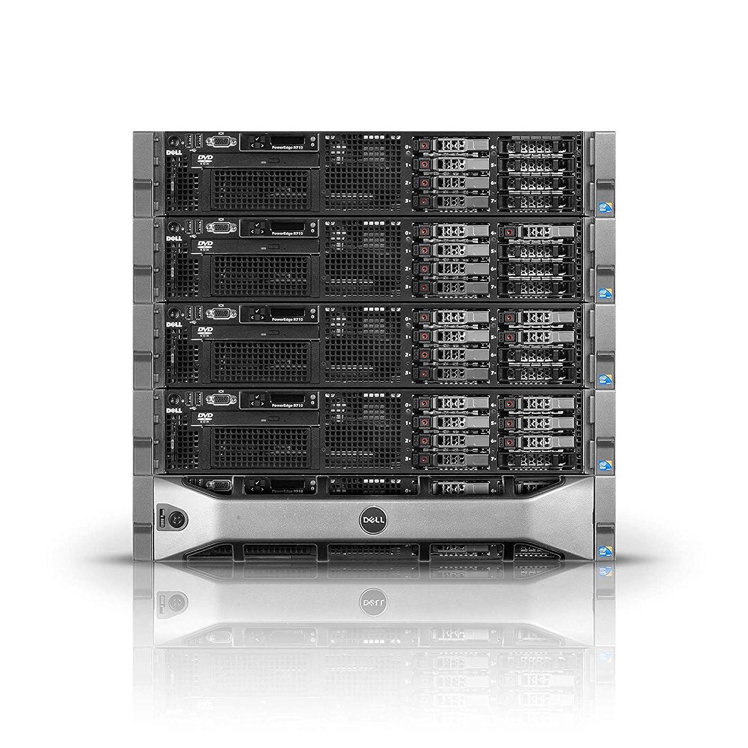 Dell PowerEdge R710 Server   2x2.80GHz X5660   32GB   PERC6i   4X 300GB (Renewed)