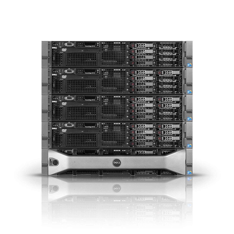 Renewed DELL PowerEdge R610 Server 2X 2.66Ghz X5650 6C 48GB 2X 146GB 10K SAS Enterprise