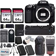$1249 » Canon EOS 90D Digital SLR Camera (Body Only) + BG-14 Battery Grip + 2X 64GB Memory Card + Replacement Battery & Travel Charger + Wireless Remote + Tripod + TTL Flash + Sling Backpack + Accessories