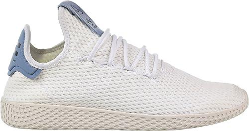 Adidas Originals Men's Pharrell Williams Human Race blanco blanco azul 8.5 D US D (M)