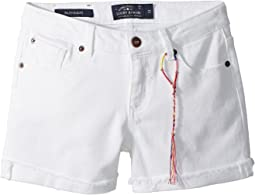 Jenna Colored Stretch Shorts (Big Kids)
