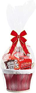 Clear Cellophane Basket Bags 18