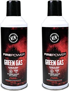 Palco Firepower Green Gas (x2) Dual Pack 8oz Cans