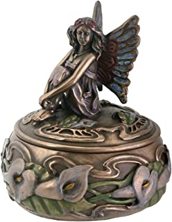 Calla Lily Fairy Box Jewelry Holder