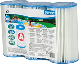 INTEX Lot 3 Cartouches de Filtration Modèle A