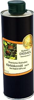 Kürbishof DEIMEL - 500ml Oryginalny styryjski olej z pestek dyni z Austrii - produkt nagrodzony - z gwarancją pochodzenia