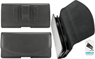 VOTEC Premium Cell Phone Dual Case Pouch Double Decker Fits Two iPhone 8, 7, 6, 6S with No Case (Each Phone Measuring 140 x 70 x 10mm or Less)