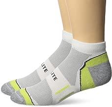Top Flite Men's Sport Performance Mesh Upper Low Cut Ultra Dri Socks 2 Pair Pack