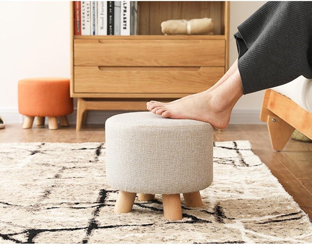 SLL- Chaussures en bois massif tabouret canapé tabouret fashion tabouret créatif Fauteuils et Chaises (Color : D) B