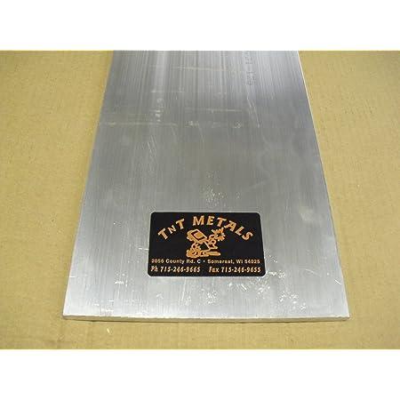 "1//2/"" Aluminum 10/"" x 36/"" Bar Sheet Plate 6061-T6 Mill Finish"