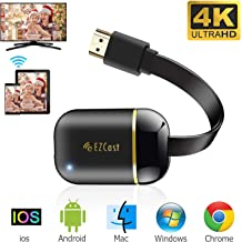 $31 » WiFi Display Dongle, FayTun 4K Wireless HDMI Display Adapter, Upgraded 5G Wireless Display Receiver, iPhone Ipad Mac iOS Android Windows Miracast Dongle for TV Projector, Support DLNA Airplay Miracast
