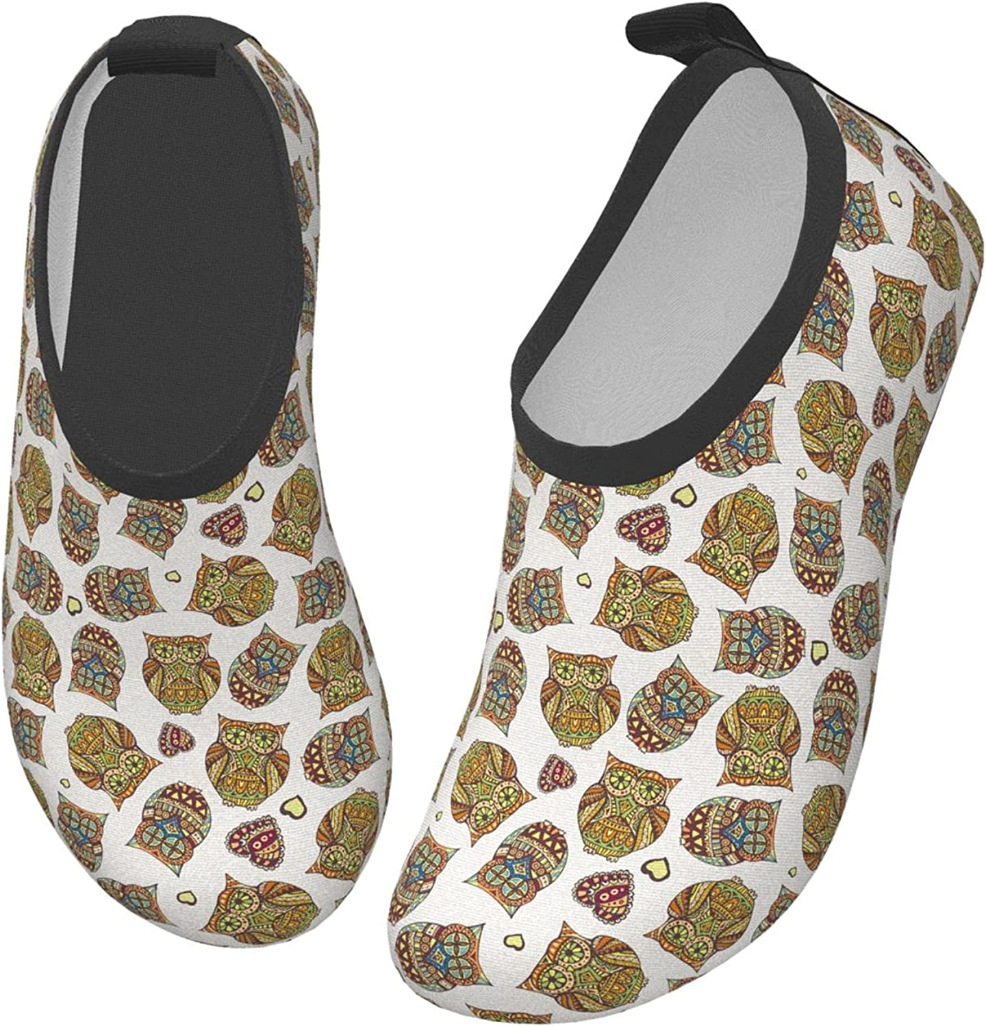 Halloween Owl Funny Autumn Animal Children's Water Shoes Feel Barefoot for Swimming Beach Boating Surfing Yoga