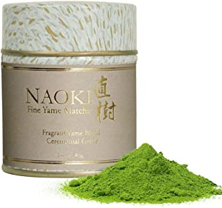 Naoki Matcha (Fragrant Yame Blend, 1.4oz / 40g) – Authentic Japanese Matcha Green Tea Powder Ceremonial Grade from Yame, F...