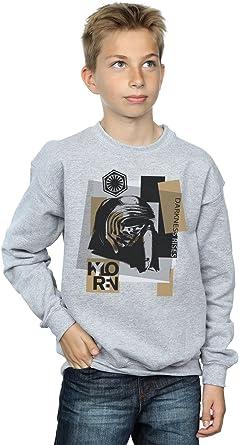 Star Wars niños The Last Jedi Kylo REN Patchwork Camisa De Entrenamiento