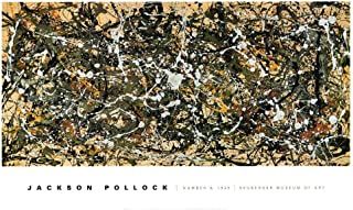 Number 8, 1949 Art Print by Jackson Pollock 50 x 30in