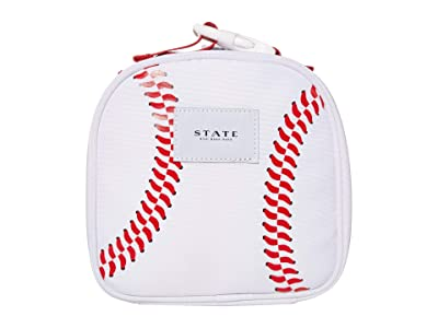 STATE Bags Kids Sports Lewis Toy Carrier (Little Kids/Big Kids) (White) Bags