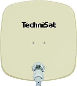 TechniSat DigiDish 45 - Antena (10.7-12.75 GHz, 950-2150 MHz, 32,2 dBi, 45 cm, Color blanco, Aluminio)