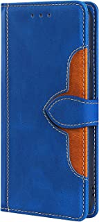 NEINEI Hoesje voor OnePlus Nord 2 5G Case,Flip Leer Hoes met [Magnetisch] [Kaartsleuf] [Stand],Hoed Ontwerp PU/TPU Wallet ...