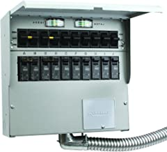 A310C Pro/Tran2 30-Amp 10-Circuit 2 Manual Transfer Switch