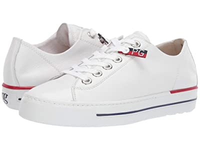 Paul Green Carly Sport (White Leather) Women