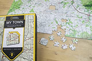 National Geographic My Town USGS Map Jigsaw Puzzle