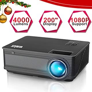WiMiUS P18 4000 Lumens LED Projector