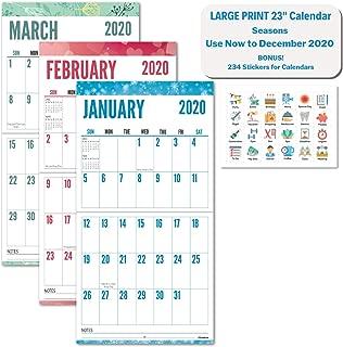 Best big grid calendar Reviews