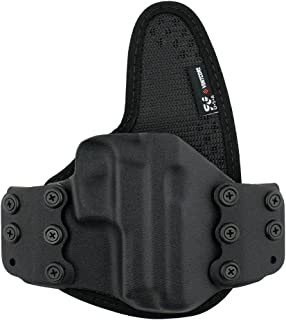 StealthGear USA SG-Ventcore Flex OWB Hybrid Holster - tuckable, Adjustable, Inside Waistband Concealed Carry Holster - Made in USA