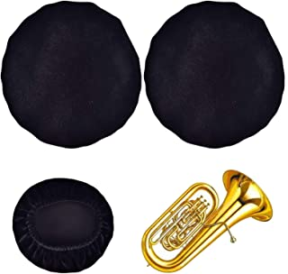 Sponsored Ad - Reusable Music Instrument Bell Cover - 18' Thickening flannelette trumpet cover for Tuba Marching Horn Kid'...
