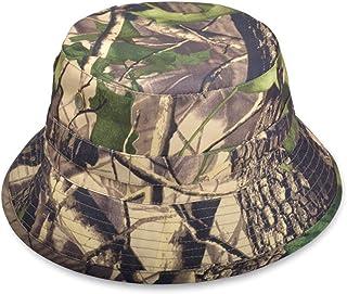 74bb27116722cc HNJZX Men's Bucket Hat Hunting Fishing Outdoor Games Bucket Camouflage Hat