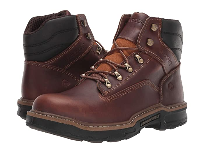 Wolverine  Raider II 6 Boot Soft Toe (Peanut) Mens Work Lace-up Boots