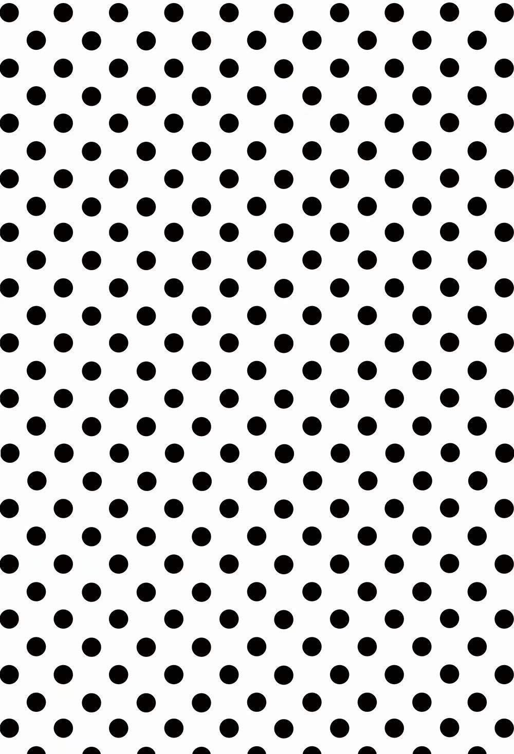 HUAYI White/Fabric/with Black/dots/Backdrop/Happy/Birthday/Party/and/Baby/Shower/Photography/Background/Celebration/Event/Decorations/Banner/Photo/Studio/Props P