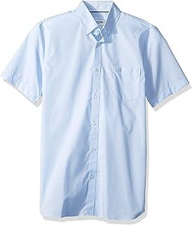 Lacoste Men's S/S Button Down Collar Regular Fit City Woven Shirt