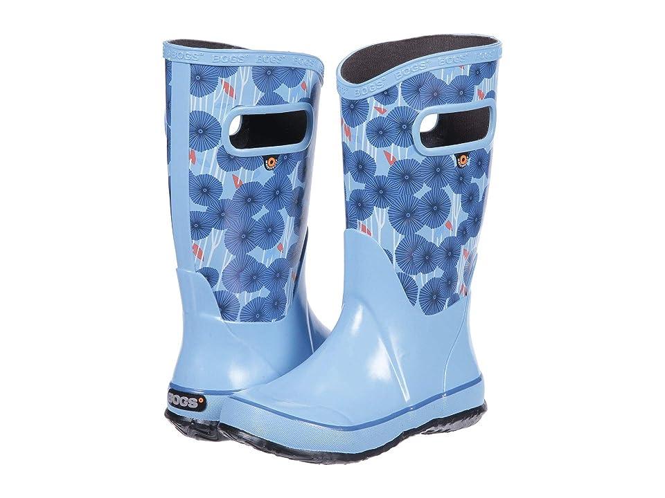 Bogs Kids Rain Boot Aster (Toddler/Little Kid/Big Kid) (Sky Blue Multi 1) Girls Shoes
