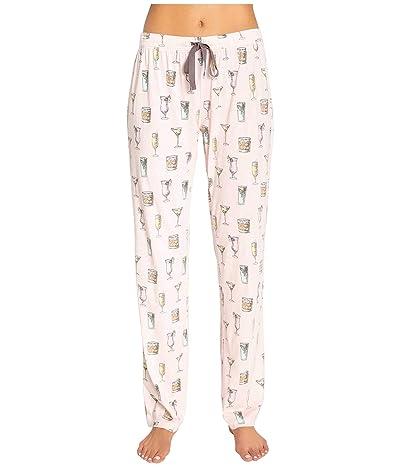 P.J. Salvage Playful Prints Sleep Pants (Blush) Women
