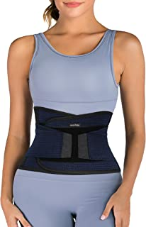 SHAPERX Women Waist Trainer Belt Hourglass Body Shaper