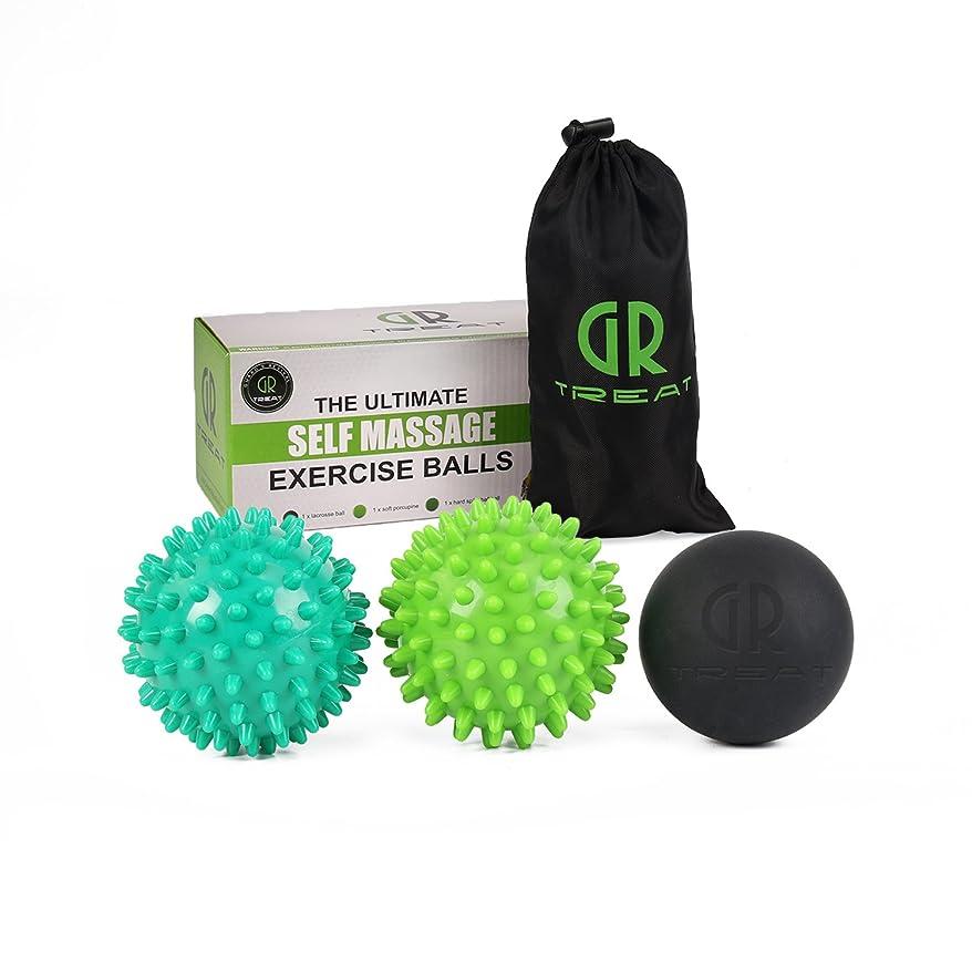 テスト賢いクリームGR マッサージボール ピーナッツ トリガーポイント マッサージボール 筋膜リリース ディープティッシュマッサージツール筋リリース、筋リラクサー、ツボマッサージ