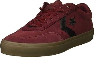 Men's Courtlandt Suede Leather Accent Low Top Sneaker