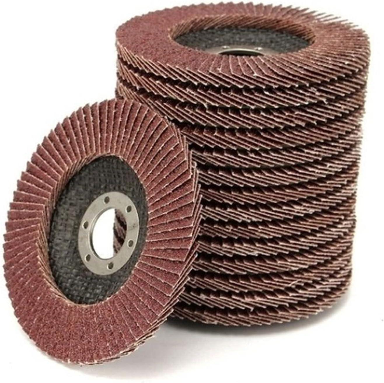 Cutting wheele 10Pcs Gifts 100mm Flap Sanding 60 Grit New Shipping Free Shipping Discs 40 120 80