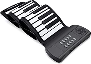 Lujex Roll Up Piano Foldable Piano Flexible Soft Electric Di