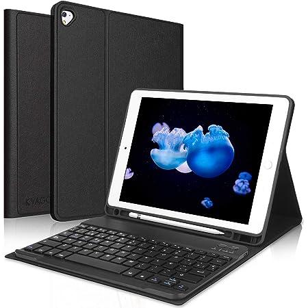 KVAGO Teclado iPad 10.2 8ª Gen 2020/7ª Gen 2019,Funda con Teclado (Diseño Español Incluye Ñ) Bluetooth Inalámbrico para iPad 10.2/iPad Air 3 /iPad ...
