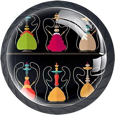 YATELI Patrón Hookah Nargile Shissha Perillas de extracción de para gabinetes, armarios, Puertas y cajones de Muebles: se Ven